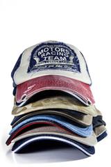 Stack of Baseball Caps