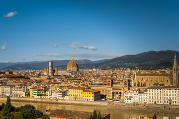 Fototapeta premium Krajobraz Florencja Toskania