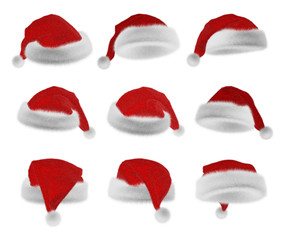 Santa Claus red hat collection
