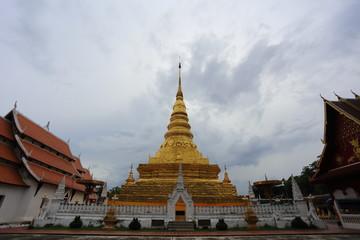 Wat Phra That Chae Haeng Temple in Nan,Thailand