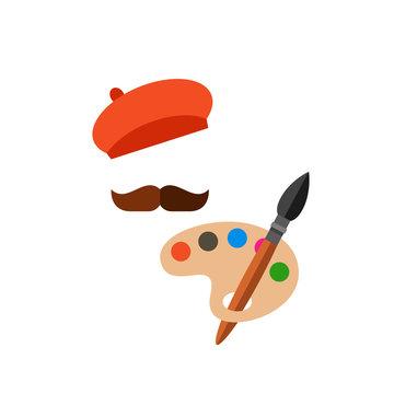 Painter Vector Icon