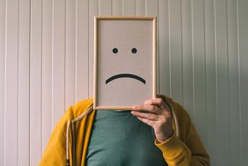 Put a sad pessimisic face on, sadness and depressive emotions co