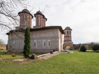 Monastery in Brebu, Prahova, Romania