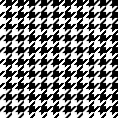 seamless pattern with dogstooth