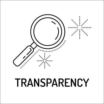 Transparency Line Icon