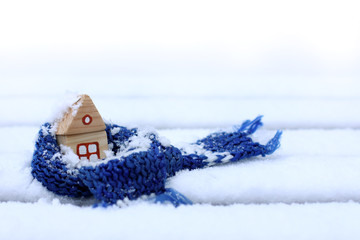 comfortable accommodation in winter weather/