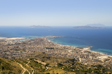 Sicily coastline view