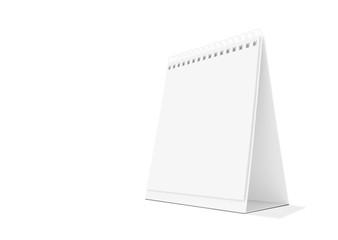 Paper desk calendar.