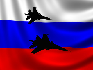Modern Russian Fighter plane