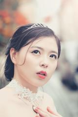 Chinese pretty bride