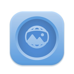 App Button - Round Square