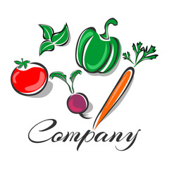 Useful vegetables logo