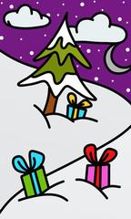Christmas trees and ragali