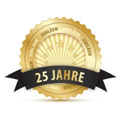 25 Jahre Jubiläum Stempel