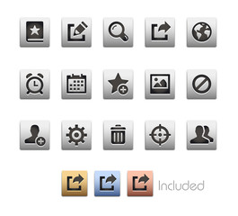 Interface Icons 2 / The vector file Includes 4 color versions in different layers.