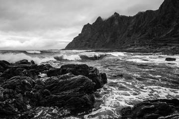 Dramatic Coast on Andoya, Vesteralen, Norway