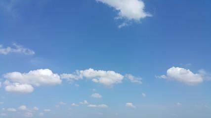 Simply blue sky.