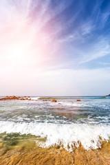 Beautiful landscape summer tropical beach