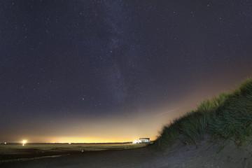 Milchstraße über dem Nordseestrand