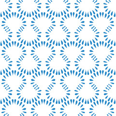 Seamless background with abstract ornate pattern