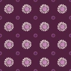 Seamless flower pattern.