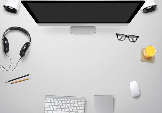 Maquetas de escritorio para diseñadores