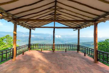 Barichara Viewpoint View