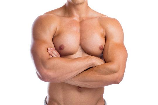 Bodybuilder Bodybuilding Muskeln Body Building Mann Oberkörper