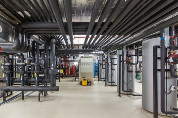 Heating System of the building. Efficient Water Treatment