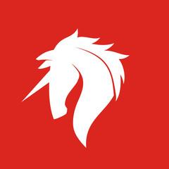 Unicorn Logo Vector Template