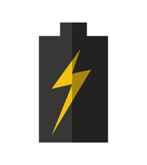 battery power energy icon vector illustration design