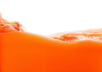 Wall Murals Juice Tomato juice splash isolated on white background