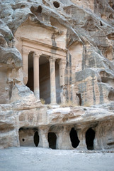 Temple Dushara at Little Petra, Jordan
