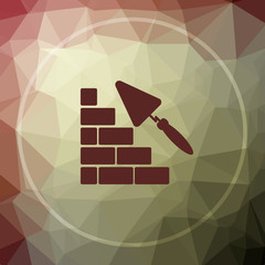 Building wall icon