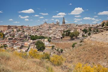 The Valley of the Tajo River near Toledo, Spain