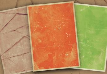 Grunge- und Papierstrukturen