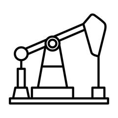 oil pump illustration design