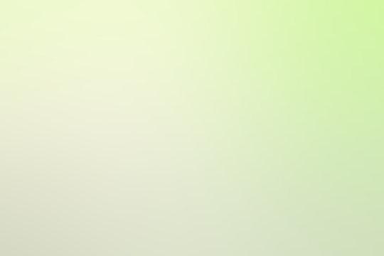 Soft green light  white  gradient background