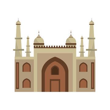 mysore palace india icon vector illustration graphic design