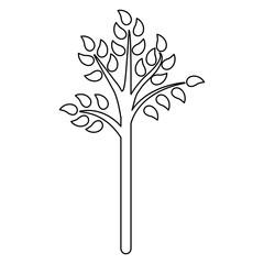 tree green nature icon vector illustration graphic design