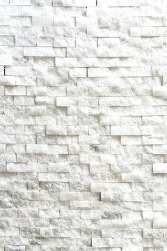 Small white stone tiles, background, texture