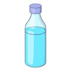 Bottle icon. Cartoon illustration of bottle vector icon for web