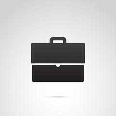 Suitcase vector icon.