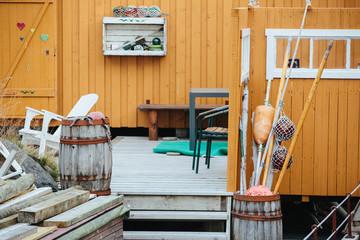 fishing house decor
