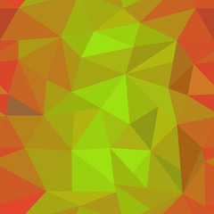 orange geometric pattern