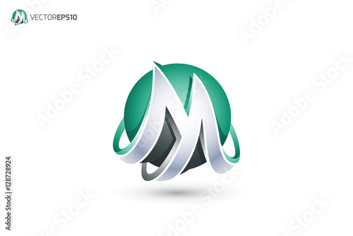 "M 3d Logo ""Abstract Letter ..."