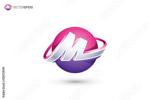 """M Logo 3d """"Abstract ..."""