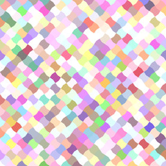 Colorful mosaic pattern background design