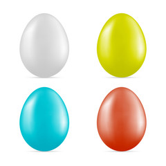 vector colorful eggs