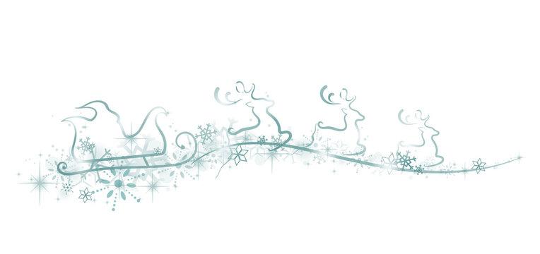 Weihnachtsschlitten Dekoration/Verzierung